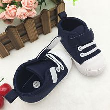 BABY BOY CANVAS STYLE CASUAL SHOES