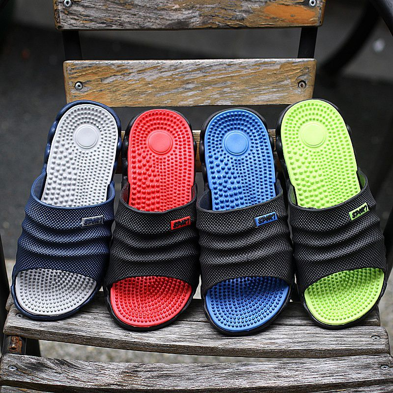 a7628eb384de 2017 Summer Slippers Men Casual Sandals Leisure Soft Slides Eva Massage  Beach Slippers Water Shoes Men S Sandals Flip Flop Price in India- Buy 2017  Summer ...