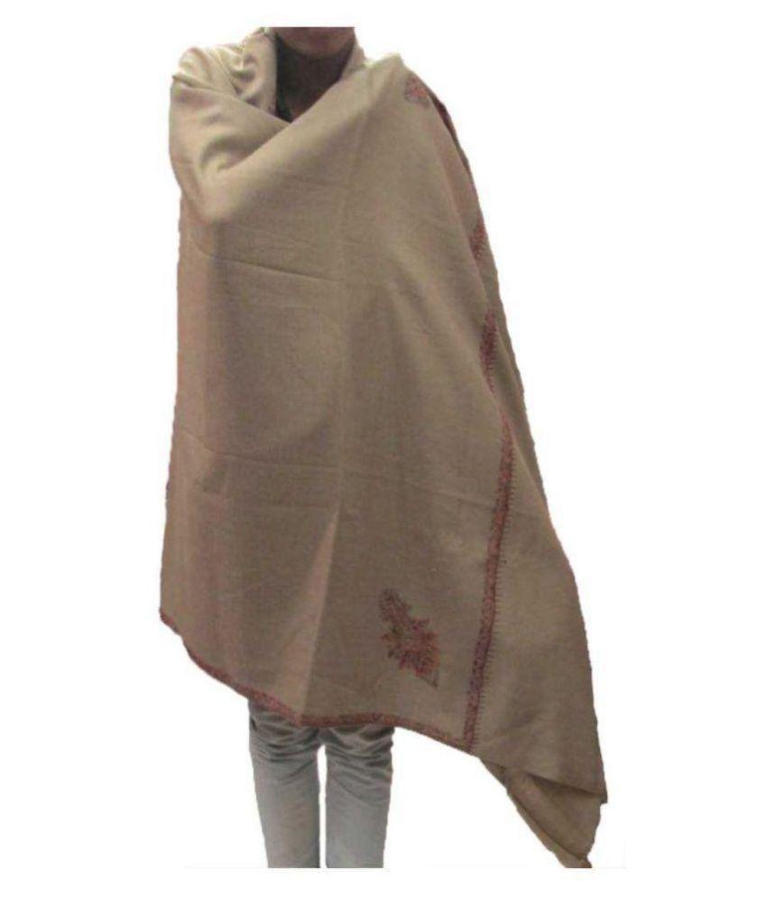 c01c0b910f kashmiri shawls Beige Sozni embroidery Shawl kashmiri shawls Beige Sozni  embroidery Shawl