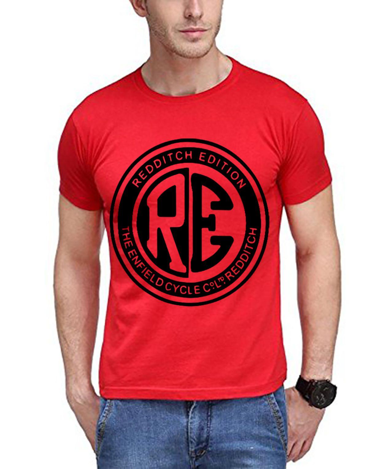 FITTIE Red Round T-Shirt