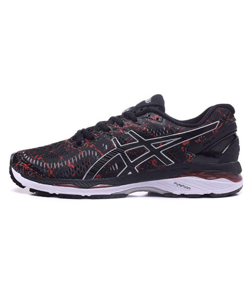 46277579 Asics GEL-KAYANO 23 Black Running Shoes