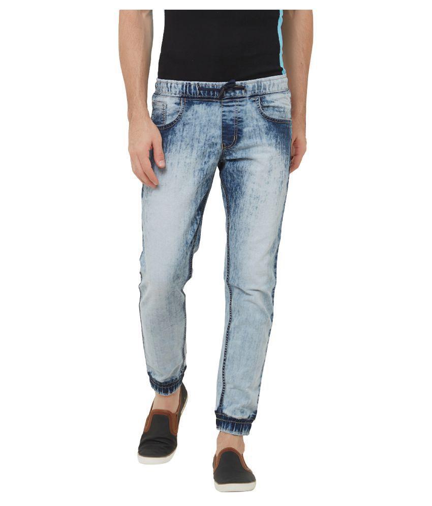 Deezeno Blue Regular Fit Jeans