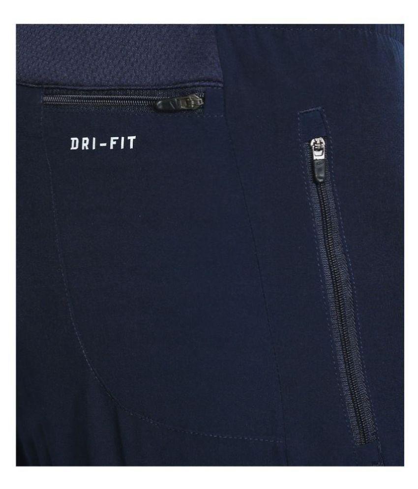 8c4282a6263cf NIKE As Dry Phnm Navy Running Track Pants - Buy NIKE As Dry Phnm ...