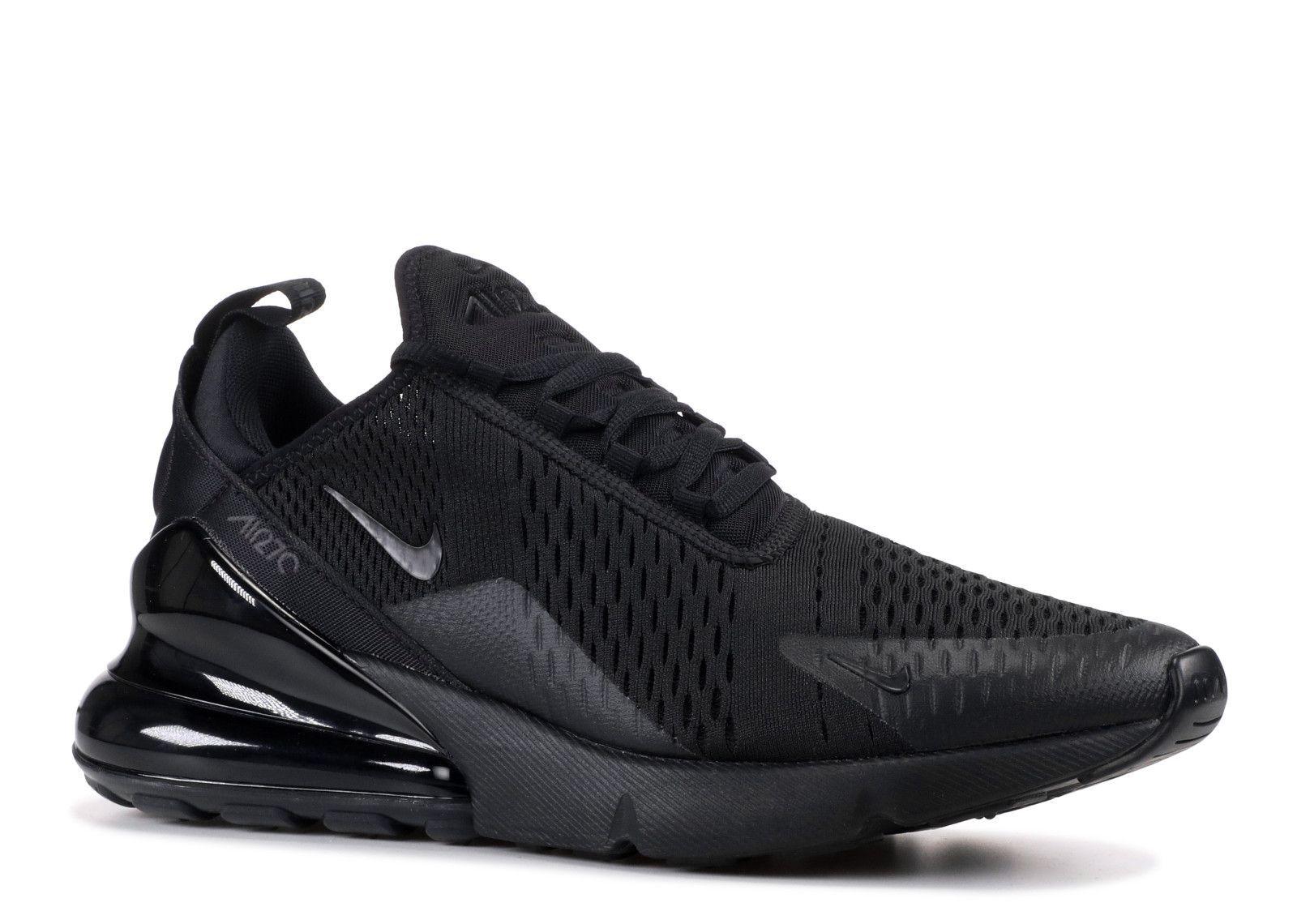 newest 3b823 9b172 Nike AIR 27 C Black Running Shoes