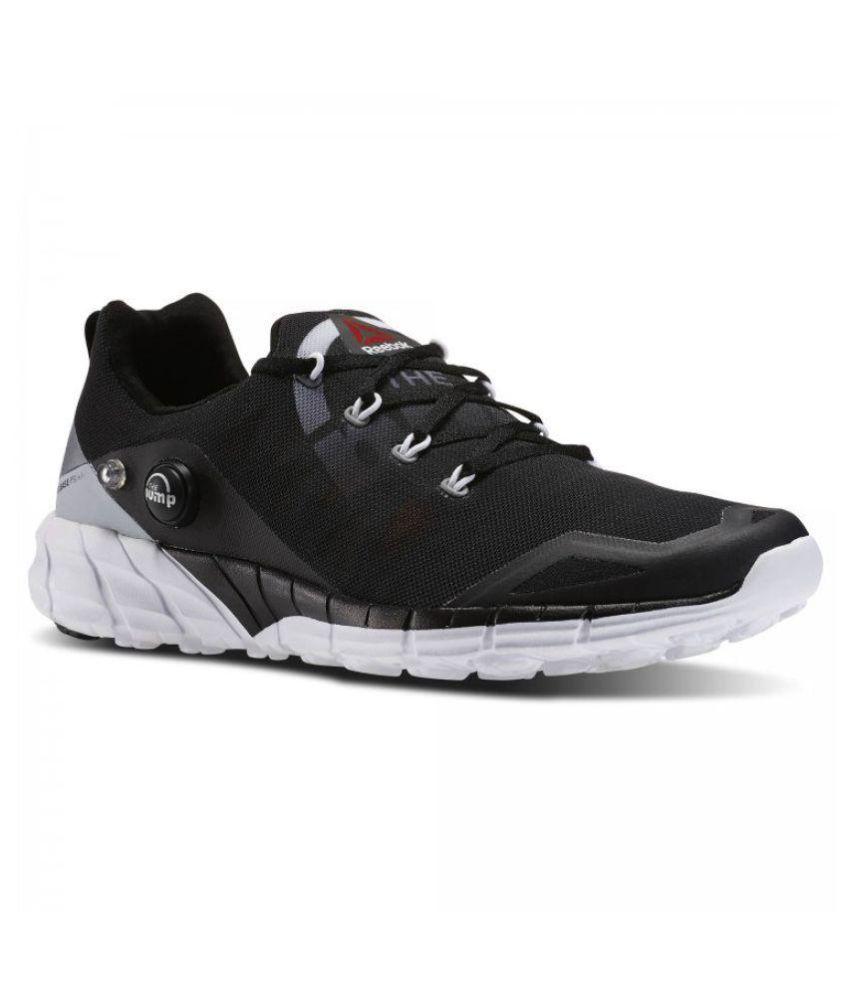 185409b22b1a8 Reebok PUMP Black Running Shoes - Buy Reebok PUMP Black Running ...