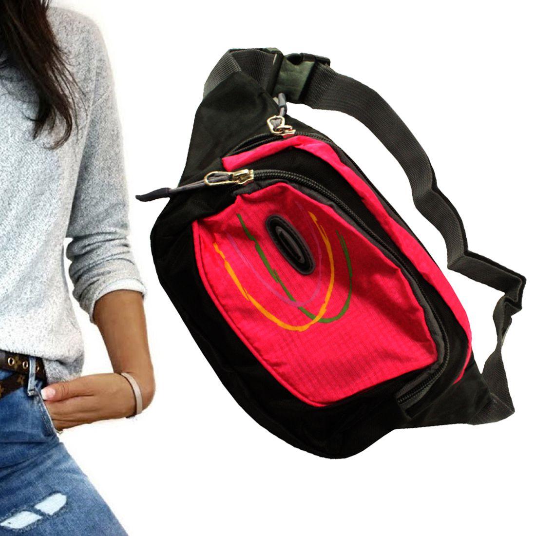 SJ Multi-Pocket Army Waist Bag Travel Hiking Camping Nylon Pink Passport  Holder - Buy SJ Multi-Pocket Army Waist Bag Travel Hiking Camping Nylon  Pink ... 149ce0ce5d