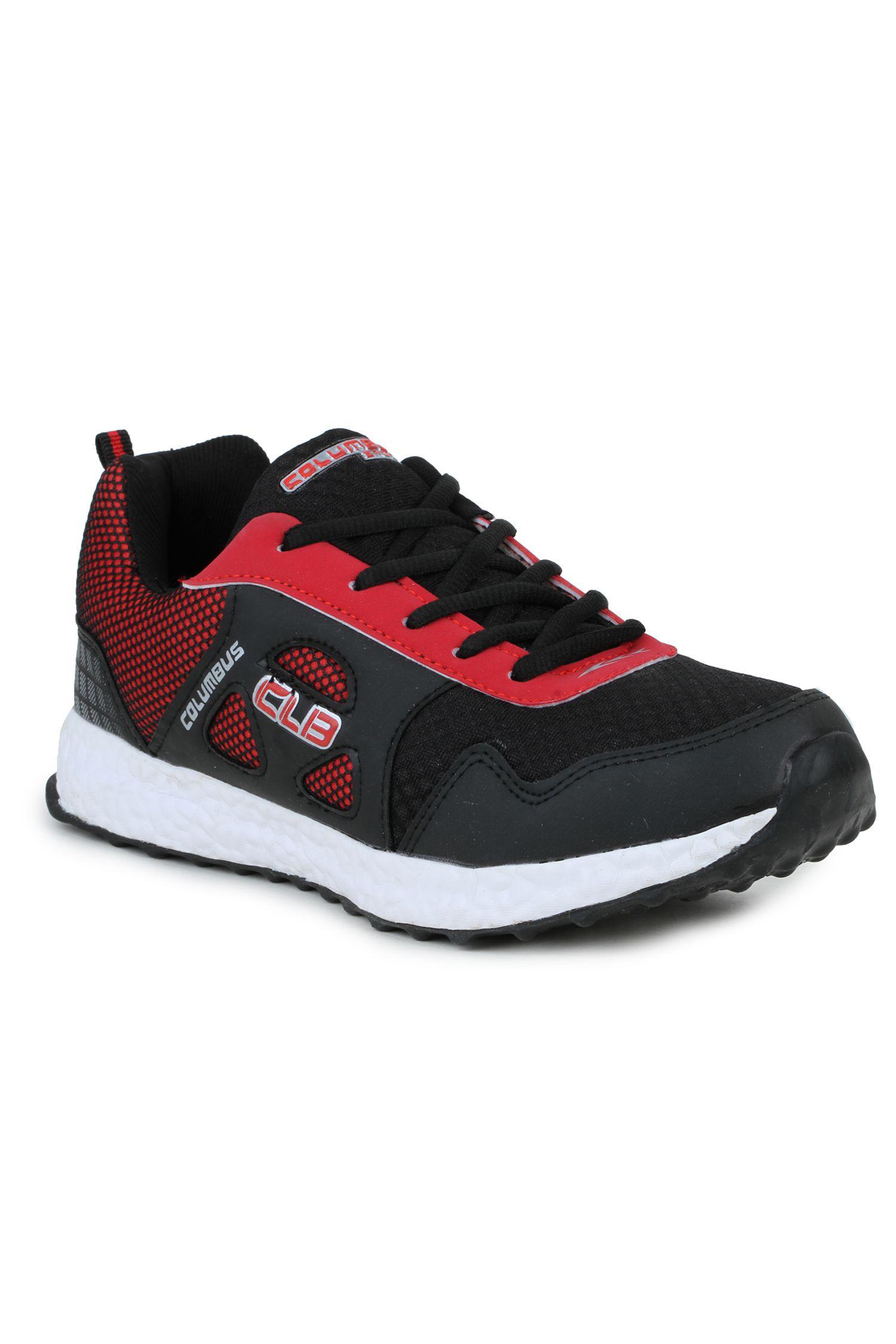 Columbus LD-0019 Black Running Shoes