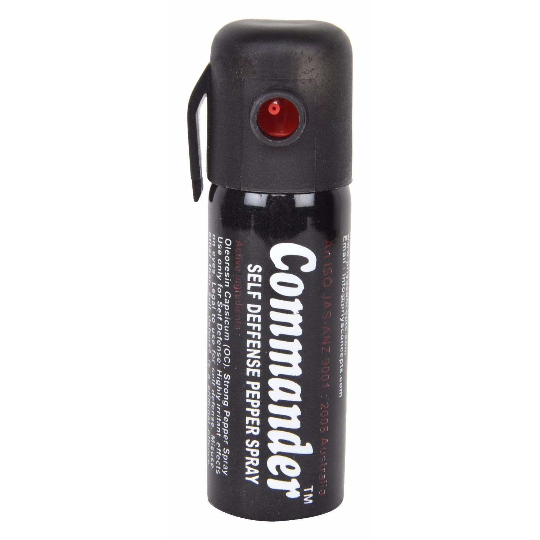 Commander Self Defence Women Safety upto 10 Feet Range Pepper Spray Pack of 1