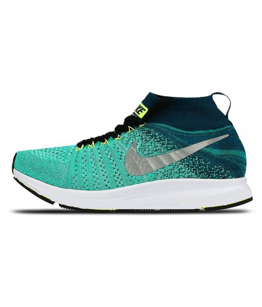 Nike Zoom Allout Flyknit Green Running