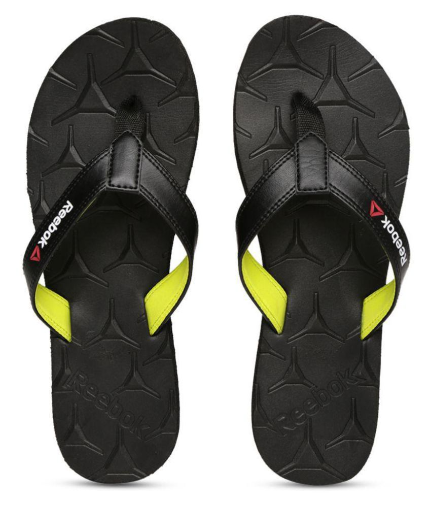 42ff0fba2 Reebok Gradient III Black Thong Flip Flop Price in India- Buy Reebok  Gradient III Black Thong Flip Flop Online at Snapdeal
