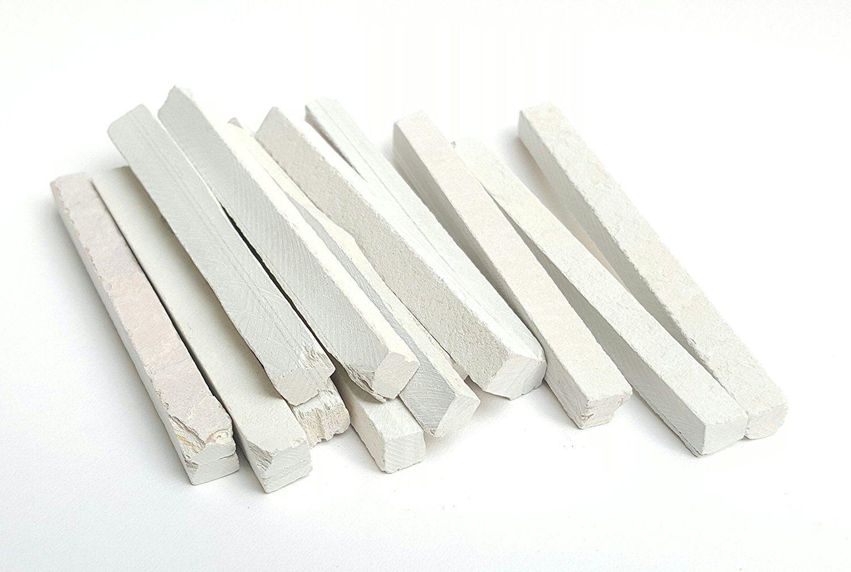 Aapkidukan Dustfree Slate pencil Natural Lime Stone (100 Sticks)