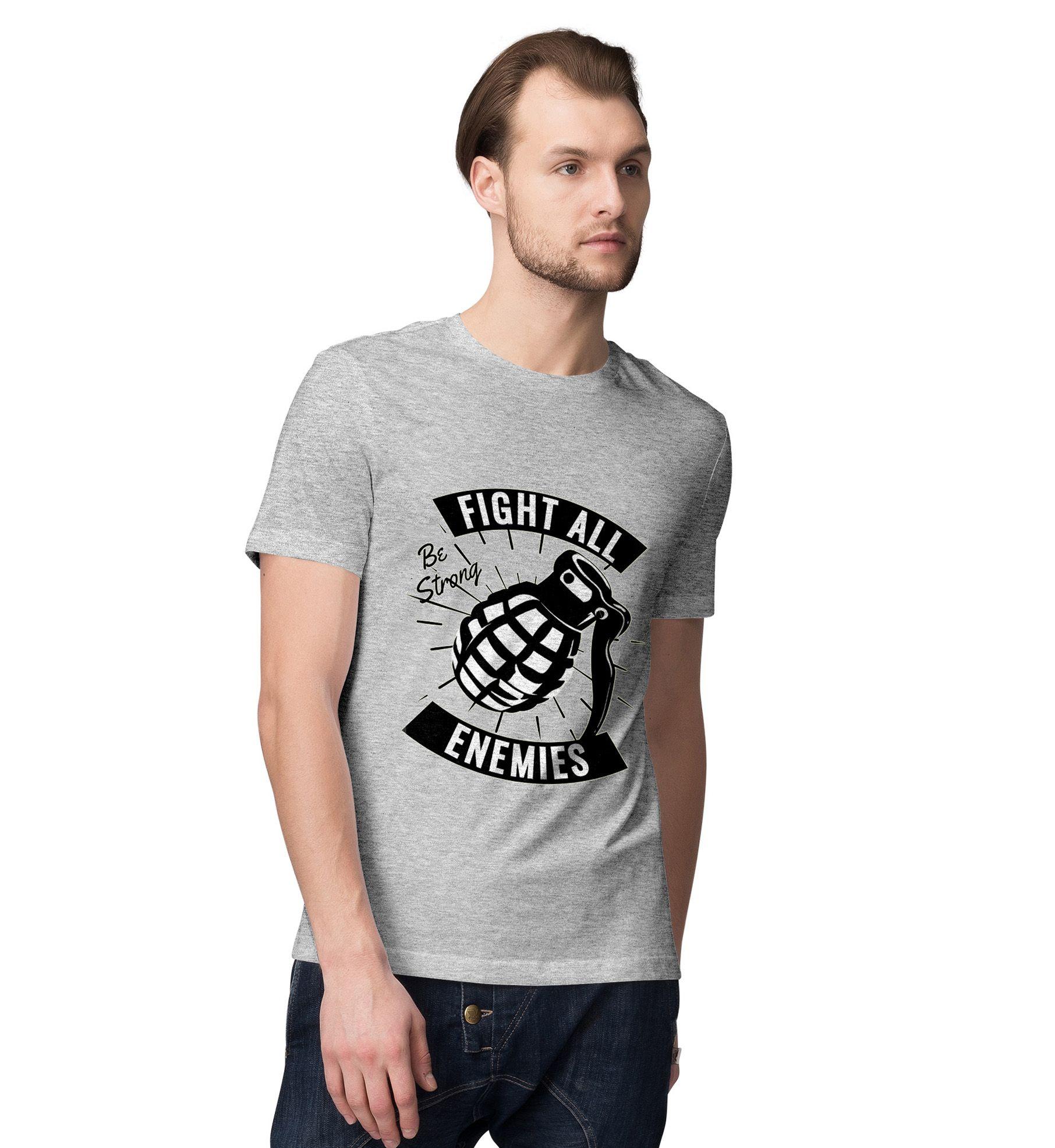 Desi Bonkers Grey Round T-Shirt