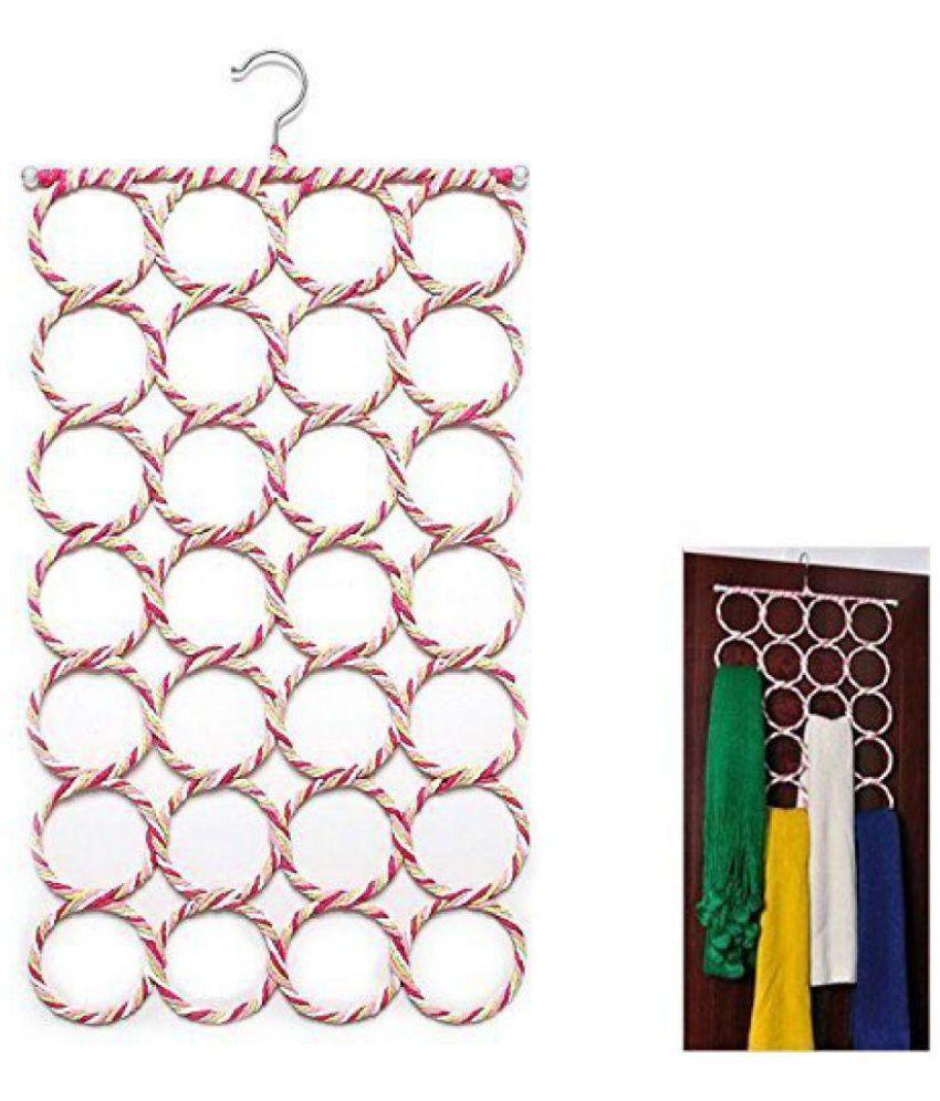 Kanha 28 Slot Scarf Hanger And Organizer