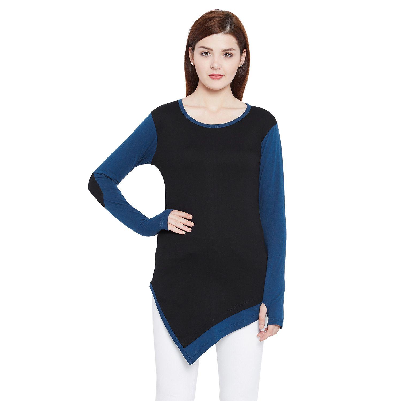 Hypernation Cotton Blue T-Shirts