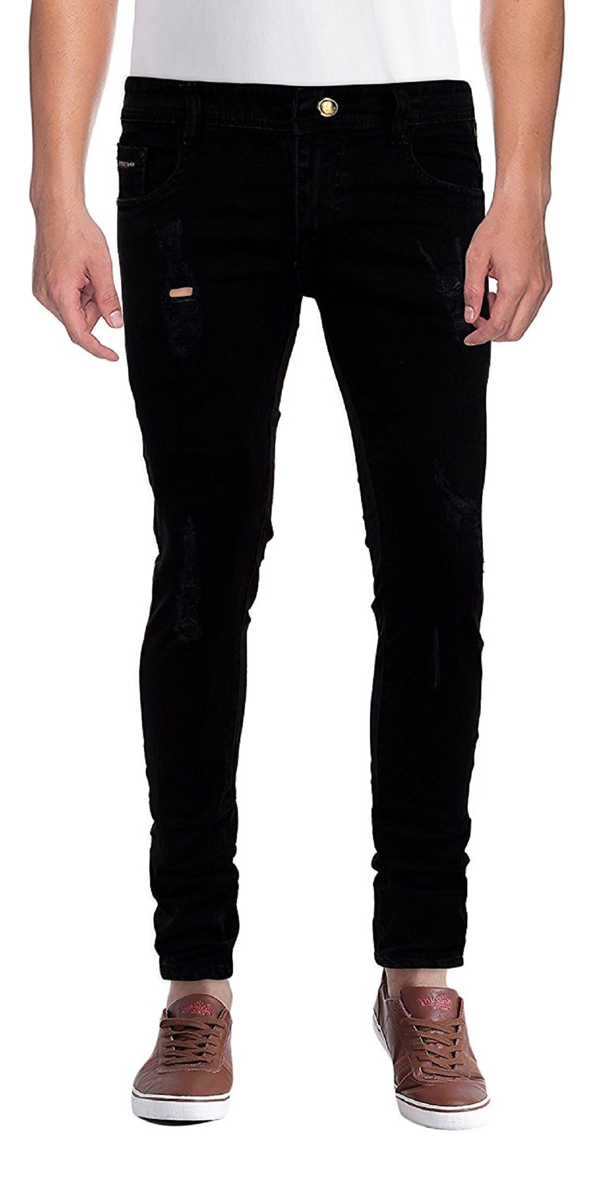 Chooz Designer Studio Black Slim Jeans