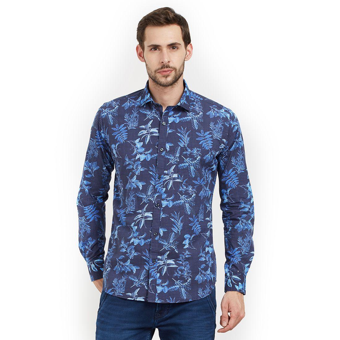 EASIES by KILLER Blue Slim Fit Shirt