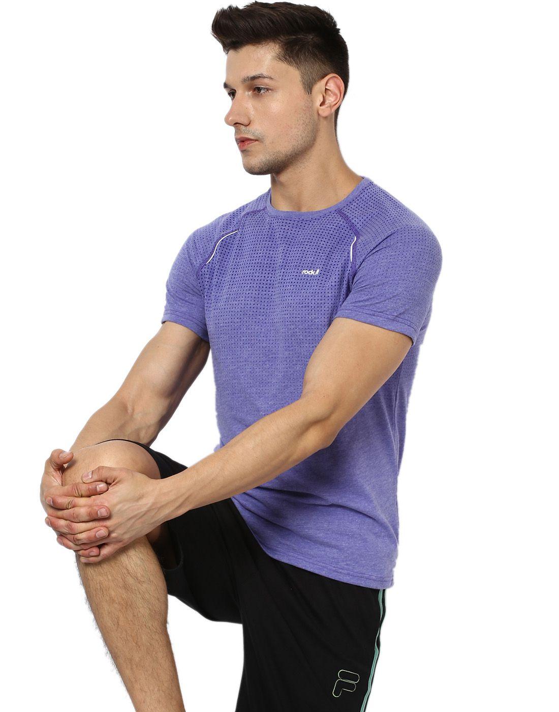 Rock.it Purple Cotton T-Shirt