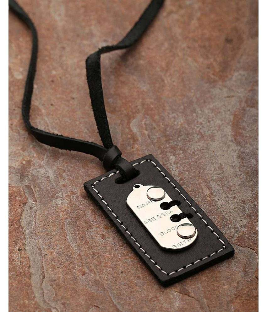 Dare Alloy With Silver Plating Plated Pendants For Men