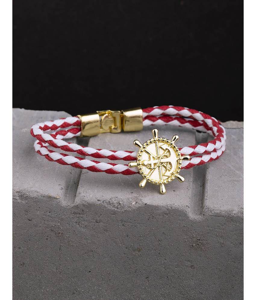 Dare By Voylla Nautical Anchor Stylish Band Bracelet