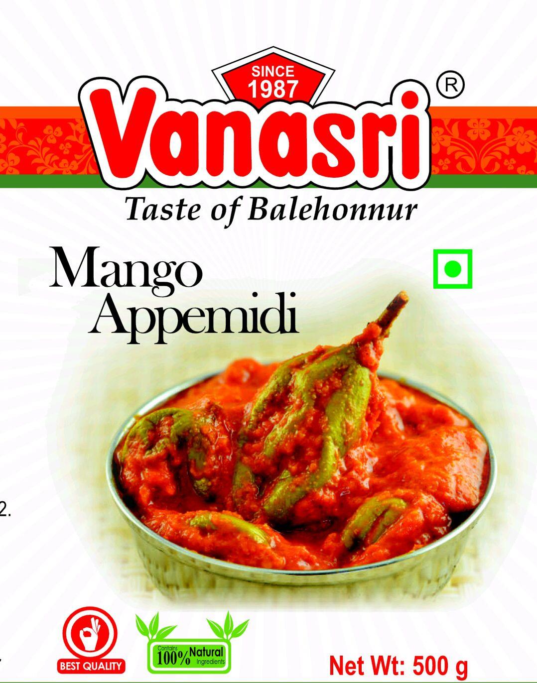 Vanasri Appemidi Mango Pickle 900 gm