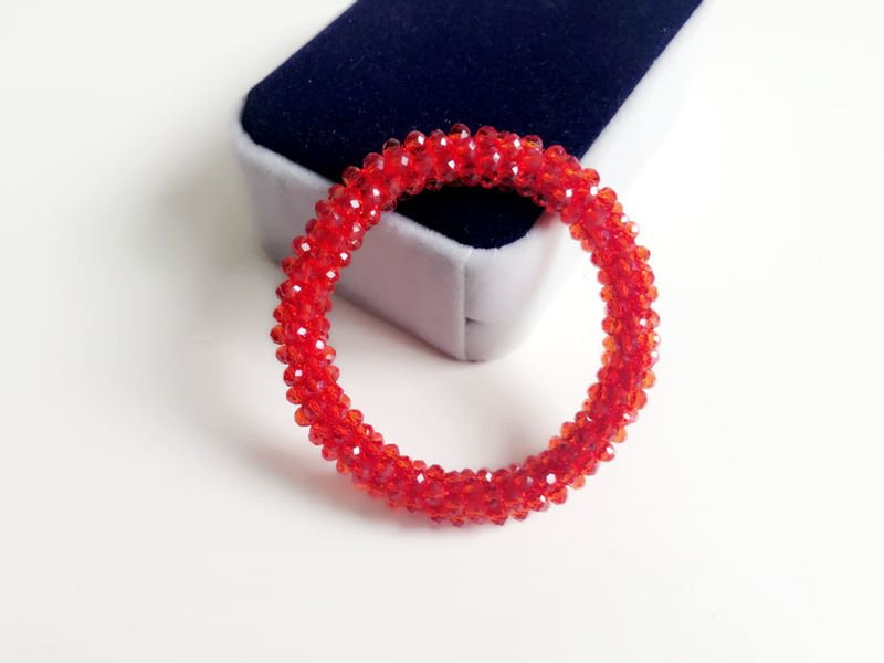 Fashion Women  Hollow Flower Heart Crystal Wedding Engagement gift Chain Bracelet Brangle Wristband Jewelry Accessories
