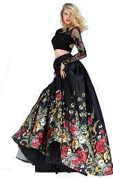 evokemart Black Bangalore Silk Circular Semi Stitched Lehenga
