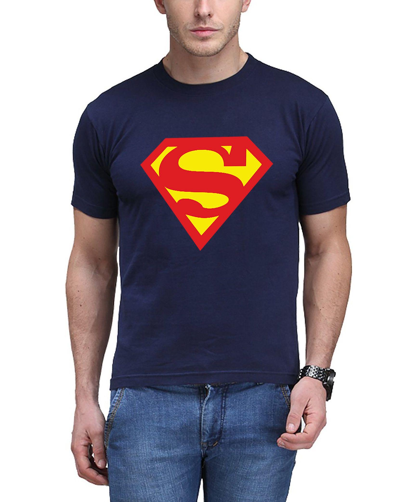 FITTIE Navy Round T-Shirt