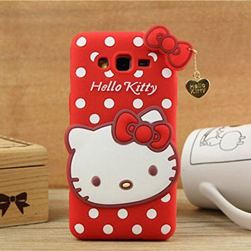 the latest ffac4 9c51e Samsung Galaxy J2 (2016) Soft Silicon Cases ELEF - Red Hello Kitty Designer  Case