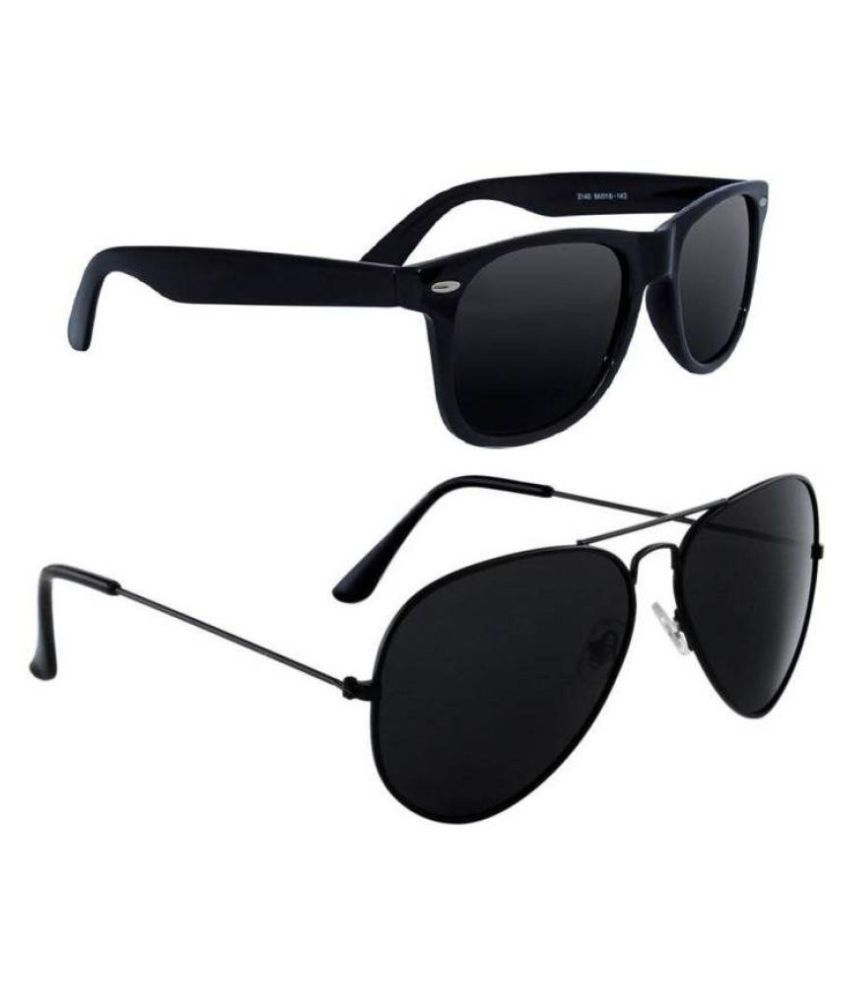 3ca56721a90 Victoria Secret Black Aviator Sunglasses ( VSI008013 ) - Buy Victoria Secret  Black Aviator Sunglasses ( VSI008013 ) Online at Low Price - Snapdeal