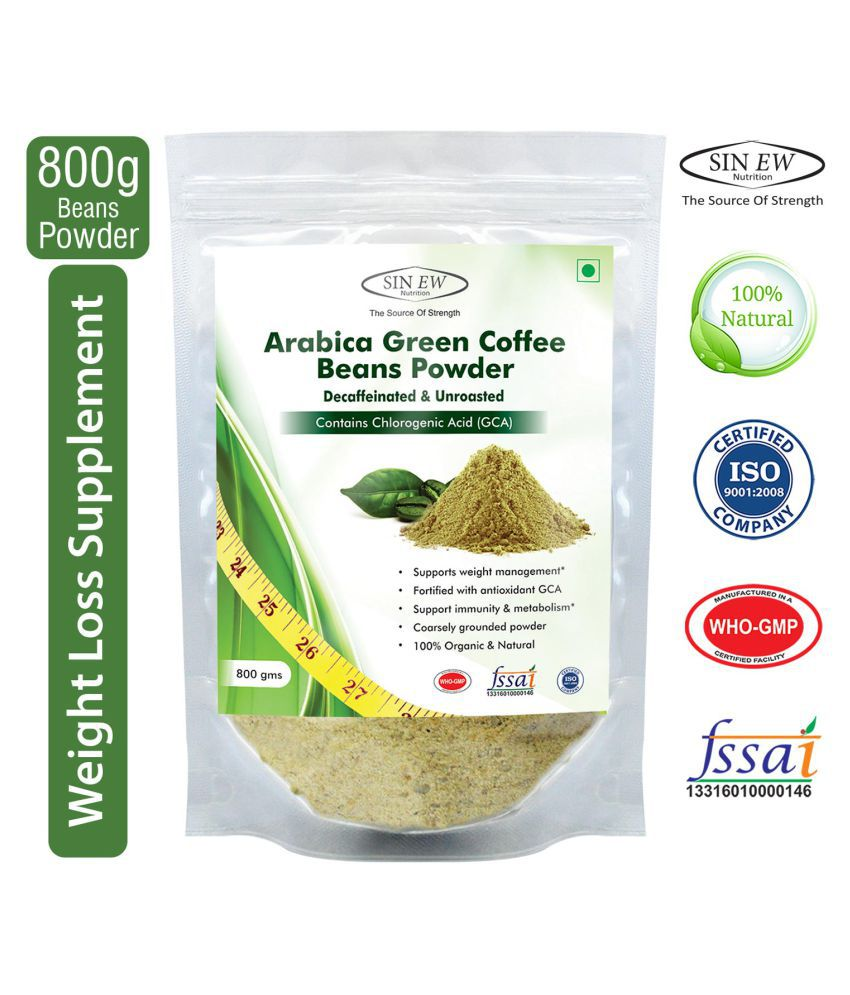 Sinew Nutrition Green Coffee Beans Powder 800 gm Unfalvoured