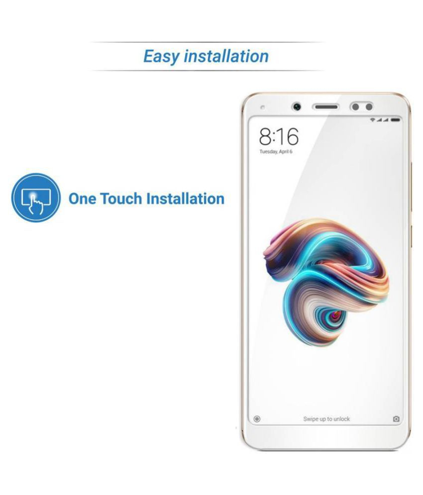 Xiaomi Redmi Y2 Tempered Glass Screen Guard By FuriouS3D Scratch Resistant,
