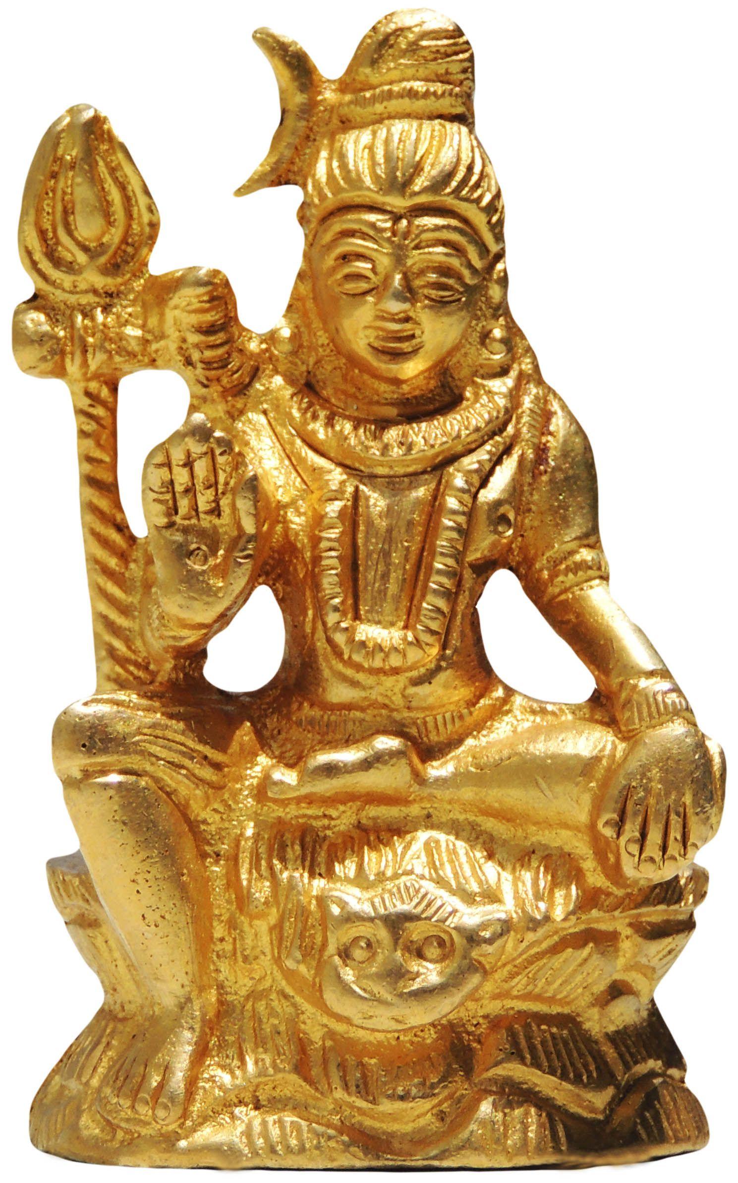 Brass Gift Center Shiva Brass Idol