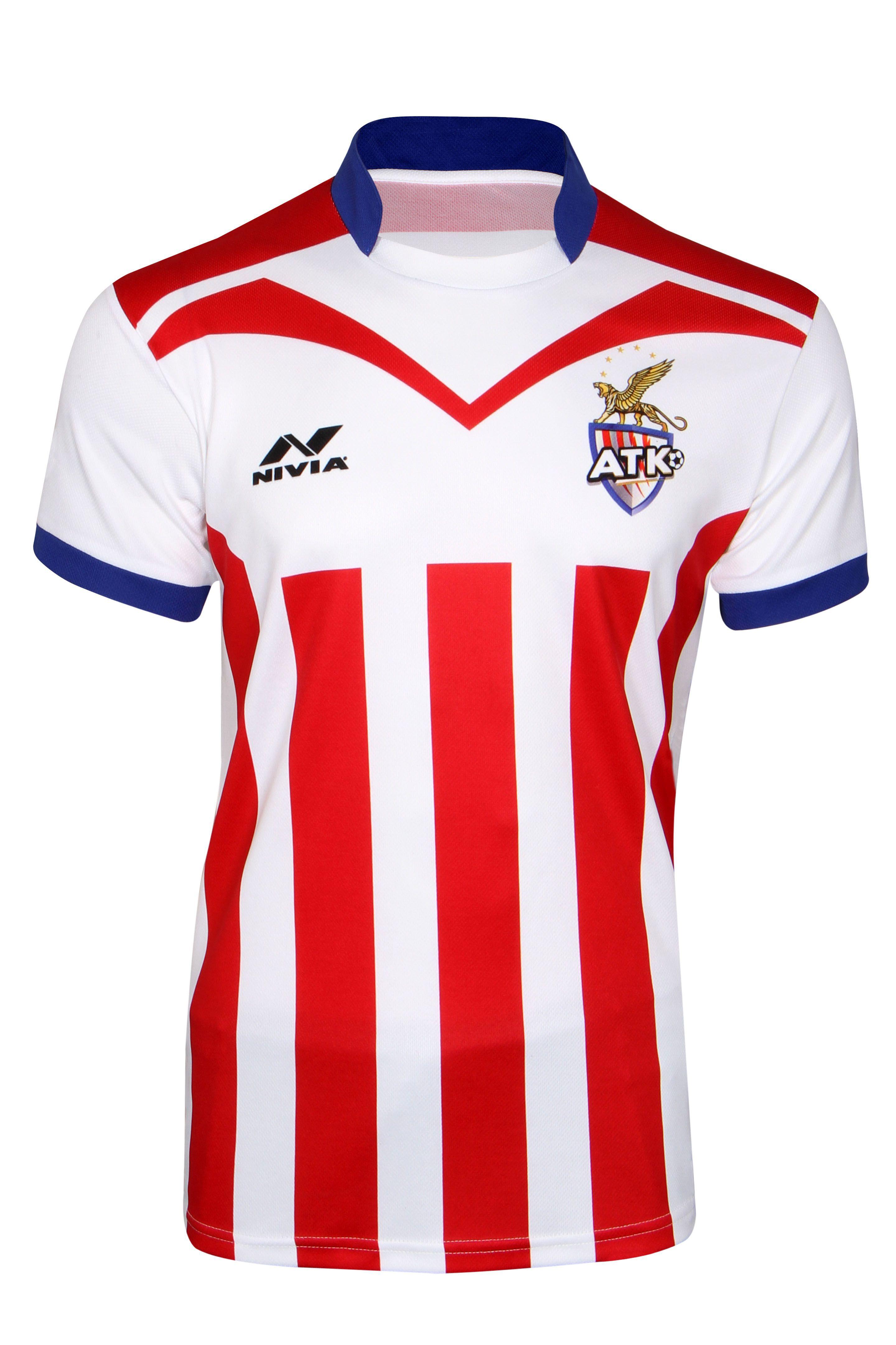 Nivia Atletico De Kolkata Team Jersey-N-PK-PP-J-M