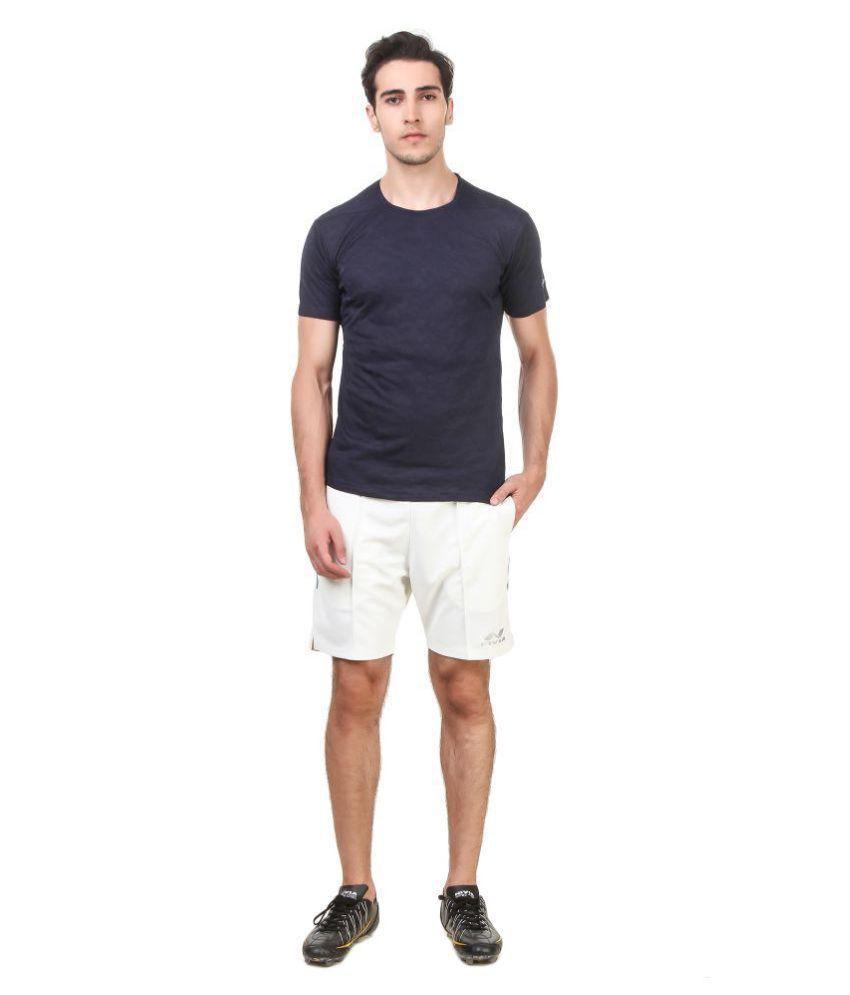Nivia Blue Polyester T-Shirt-2234XL-1