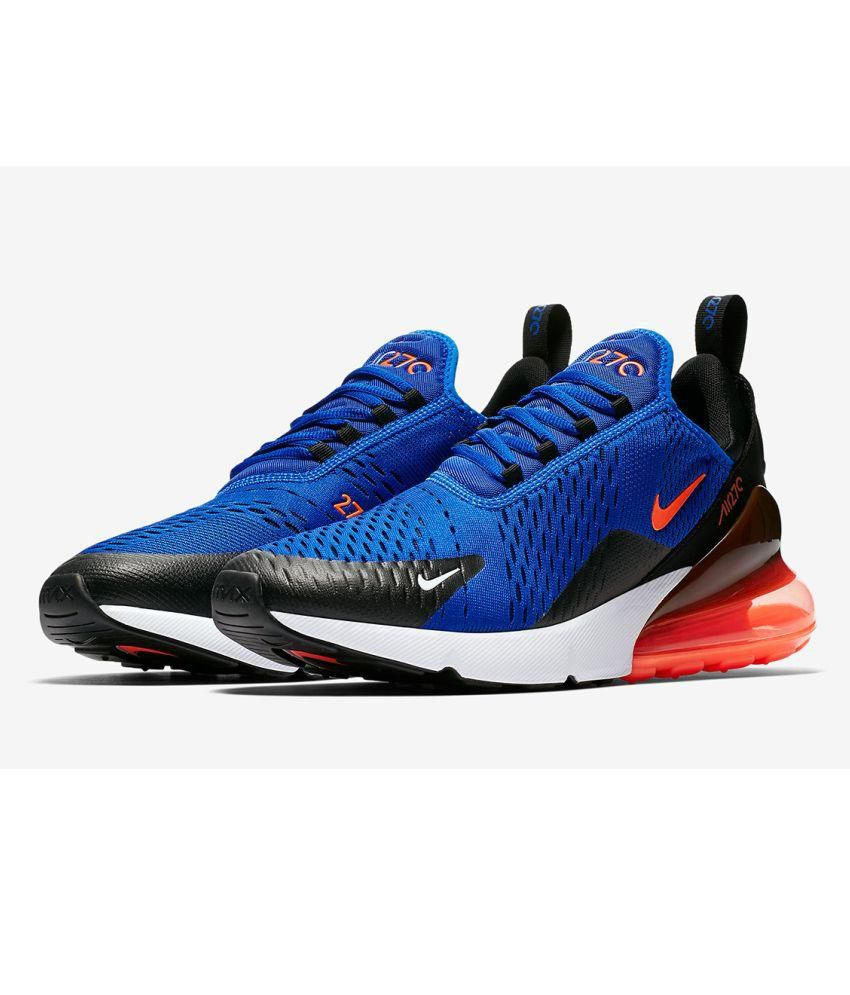 f82b501752 Nike Air Max 270 Blue Running Shoes - Buy Nike Air Max 270 Blue ...