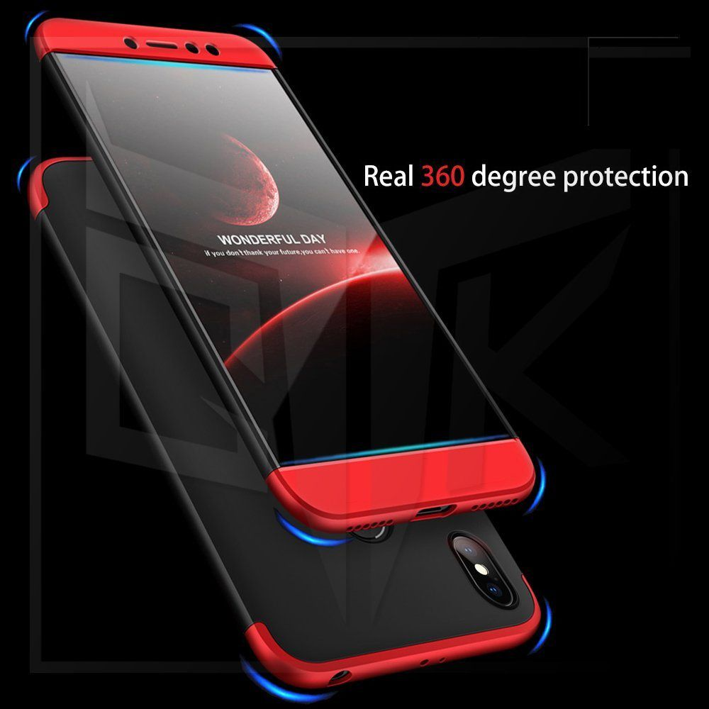 premium selection c645b b8f04 Xiaomi Redmi Y2 Flip Cover by Shanice - Red GKK 360 iPacky Cover