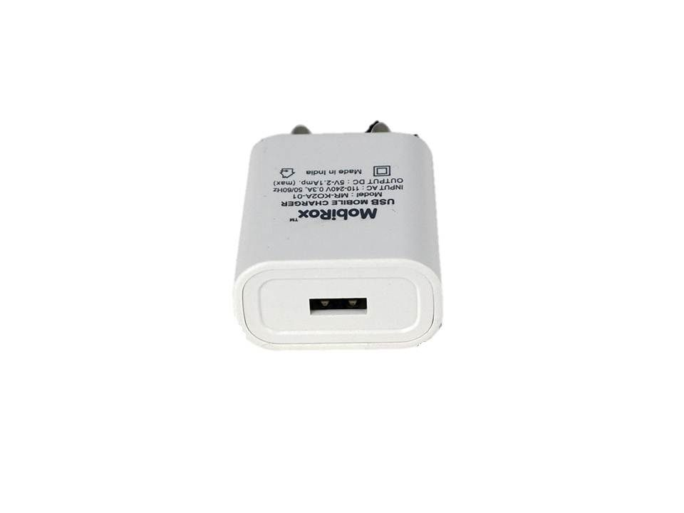MobiRox 2 1A Wall Charger Oppo A83 Mobile Charger - Chargers