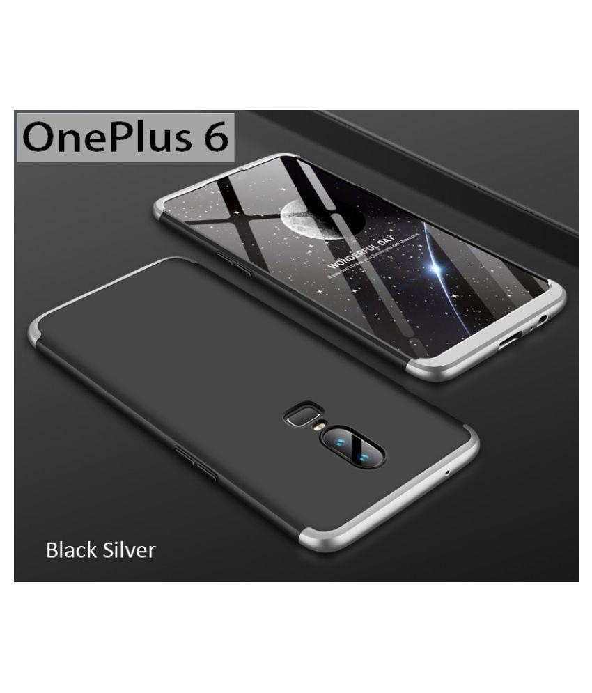 OnePlus 6 Shock Proof Case JMA - Silver