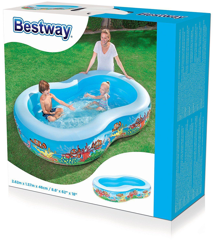 fastdeal Bestway Play Pool (103x62x18-inch)