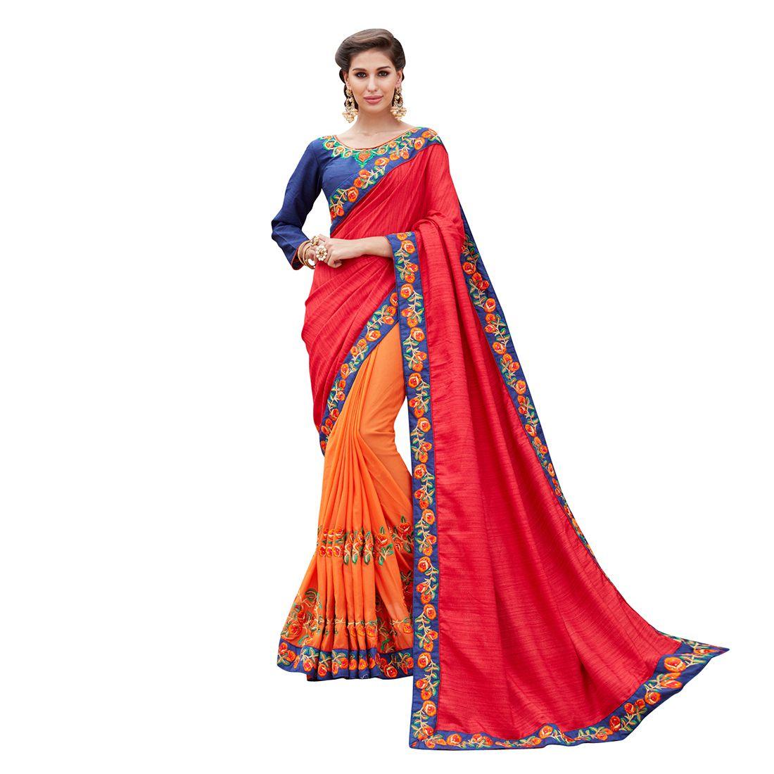 SareeA Multicoloured Silk Saree