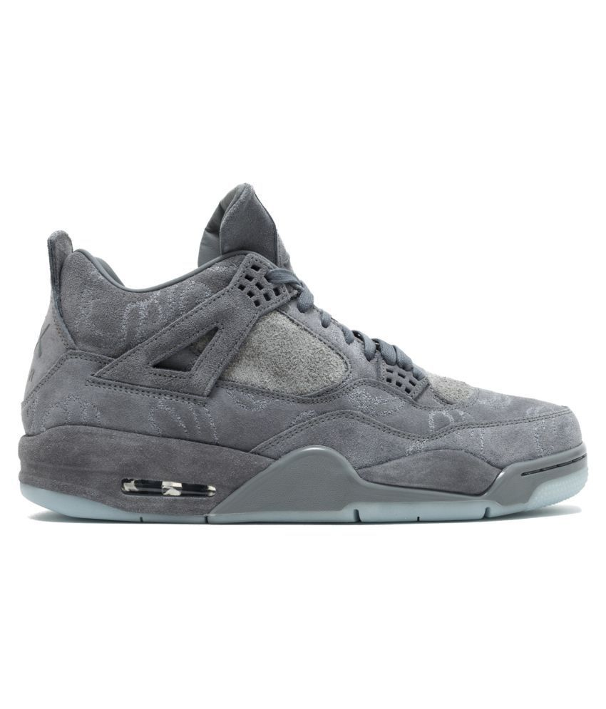 meet c04e8 fc702 Nike Gray Basketball Shoes - Buy Nike Gray Basketball Shoes Online at Best  Prices in India on Snapdeal