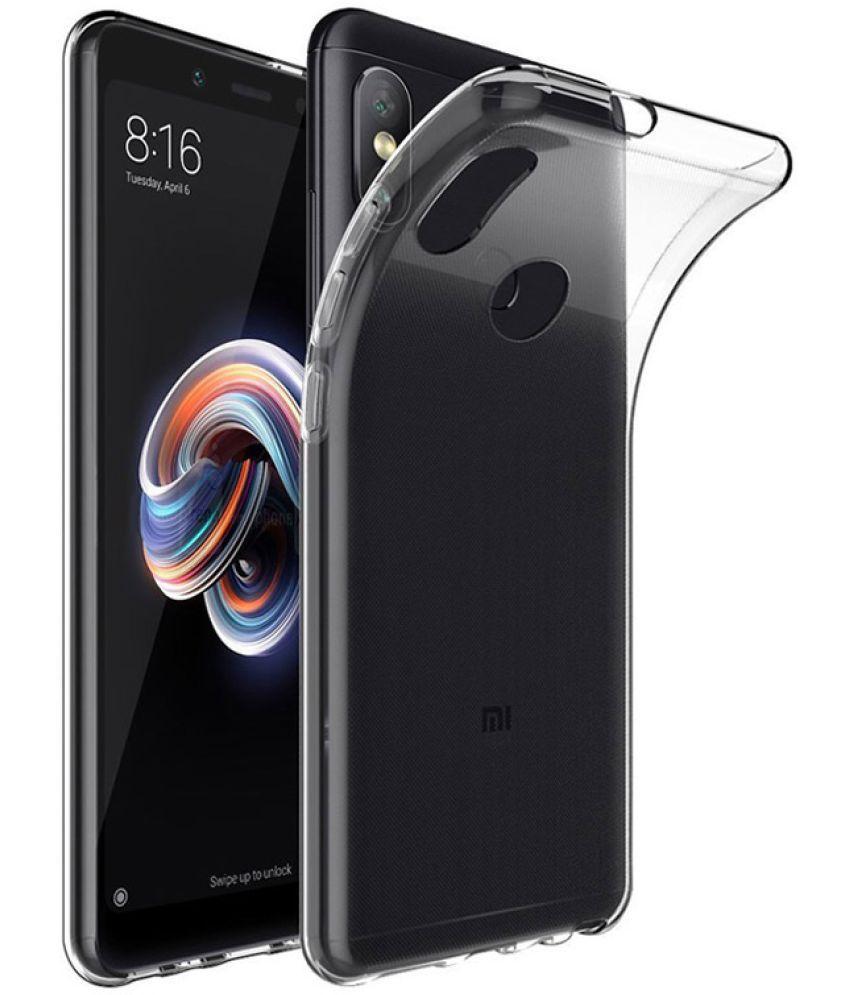 buy online 19009 fc662 Xiaomi Redmi Y2 Soft Silicon Cases SpectraDeal - Transparent