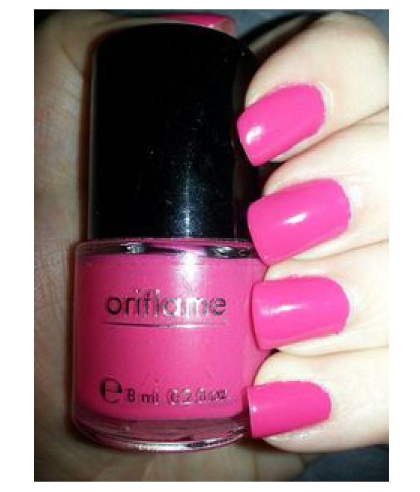 Oriflame Pure Colour Nail Polish 30797 Hot Fuchsia Natural 6 ml: Buy ...