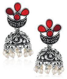Indian Bollywood Gold Plated Polki Pearl Jhumki Earring Partywear Fashion Jewelr Hair & Head Jewelry