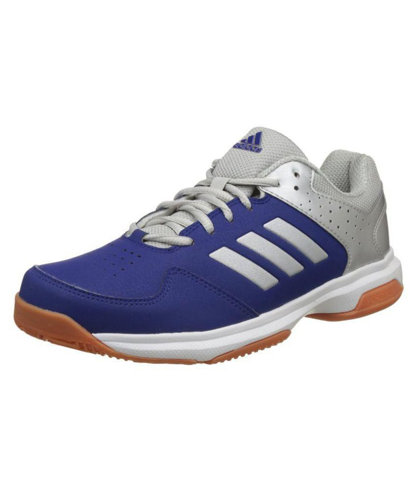 f21b1c993e8ff1 Adidas QUICK FORCE IND Badminton Shoes Blue Indoor Court Shoes - Buy Adidas  QUICK FORCE IND Badminton Shoes Blue Indoor Court Shoes Online at Best  Prices in ...