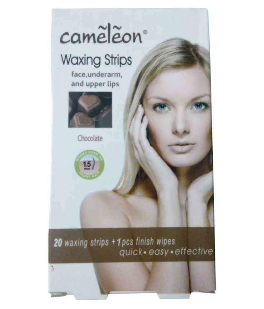 Cameleon Professional Range Waxing Strips Wax Strips for 20 Pcs