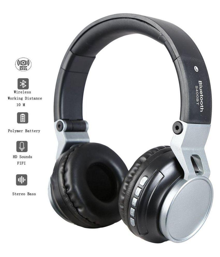 Opta BH002-Black Ear Buds Wireless Earphones With Mic