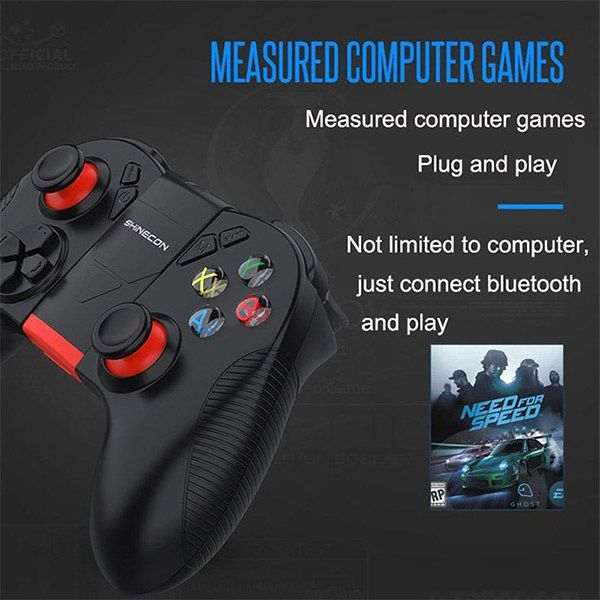 Wireless Bluetooth Gamepad Remote Game Controller Joystick for PUBG and VR  Remote Control Jailbreak Suitable for Apple Android