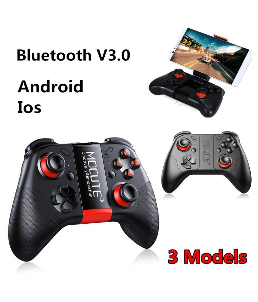 Buy MOCUTE 050/053/054 Wireless Bluetooth V 3.0 Game Controller Rechargeable 3D VR Headset Remote Controller for Android/IOS/TV Box Online at Best Price in ...