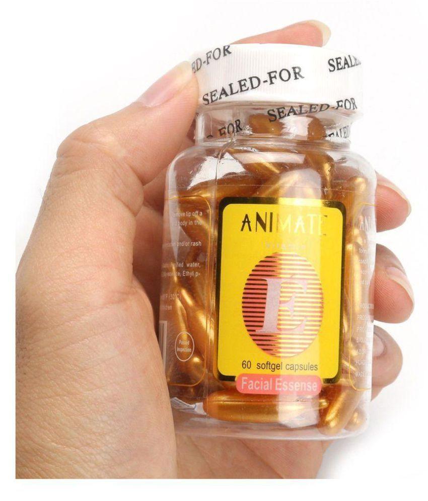KALOPSIA INDUSTRIES Skin Care ANIMATE Vitamin C Capsules Facial Kit gm